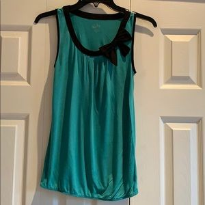 Ann Taylor Loft Sleeveless Bow Top